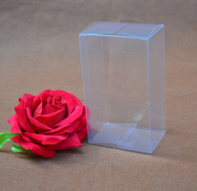 Jolly PVC box Clear  PVC plastic  paper soap box, gift packing plastic box size: 10*12*17cm