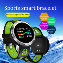 Smart Wristband Color Screen Bracelet Continuous Heart Rate Monitor Health Fitness Tracker Smart Band Call Reminder pk mi band 3(China)