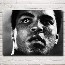 Muhammad Ali Boxer Champion Art Silk Poster Print Sports Pictures Home Decor 12x16 18x24 24X32 Inches Free Shipping