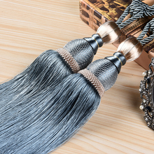 High Quality Fashion Tapestry Tassel Fringe Curtain Accessories Hanging Ear Fringed Home Wall Decoration(China)