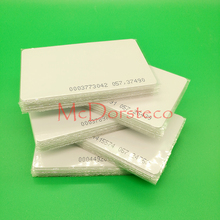 50 pcs 0.8mm ID thin Card TK4100 Chip Read only 125kHz RFID ID Card Access Control System Card Access Key Only