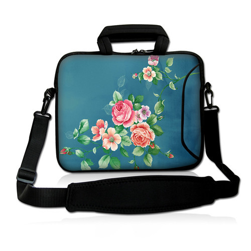 Hot selling!  Blue  17 17.3 Purple  Laptop Notebook Sleeve Case Bag with Handle newest laptop bag<br><br>Aliexpress