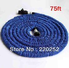 Aluminum hose head 75ft expandable garden hose,expandable hose75ft,flexible watering hose pipe(China)