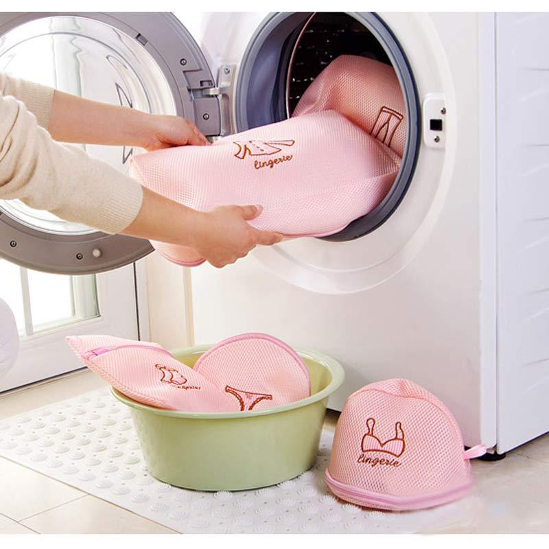 5Pcs-set-Mesh-Clothing-Storage-Bag-Laundry-Wash-Bags-Household-Clothes-Underwear-Bra-Foldable-Washing-Machine