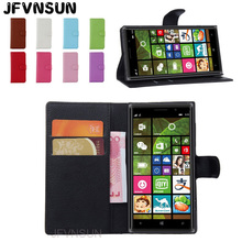 JFVNSUN Case for Microsoft Nokia Lumia 830 NEW Card Slot Wallet Magnetic Leather Flip Cover for Nokia Lumia 830 Stand Phone Bag