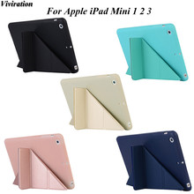 Viviration High Quality TPU Protective Shell/Skin Good Use Tablet PC Cover Case For Apple iPad Mini 1 2 3 7.9 Inch Tablet PC(China)