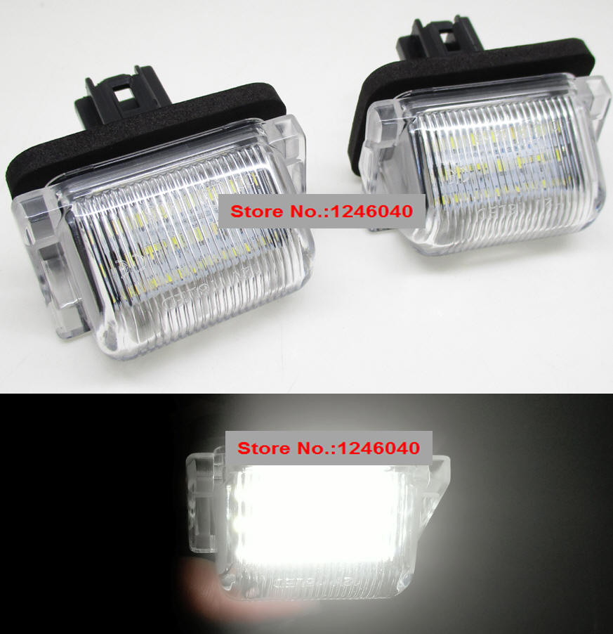 2 Pcs XENON White LED Side Light Upgrade Bulbs 9 SMD Error Free For Mazda 6 GY