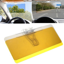 1PC Car Transparent Anti-glare Glass Car Sun Shield Vision Visor For Day / Night Effectively prevent snow blindness