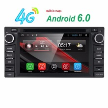 Android 6.0 car gps FOR Toyota Hilux VIOS Old Camry Prado RAV4 Prado 2003 2004 2005 2006 2007 2008 car dvd player radio DAB+