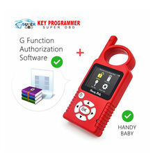 Original Handy Baby Hand-held V8.3 Car Key Copy Auto Key Programmer for 4D/46/48 Chips Plus G Chip Copy Function Authorization