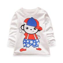 baby girl clothes 100% cotton print children girl t shirts nova brand kids clothing cartoon white t shirt for girls infant tee
