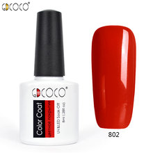 #70312 2017 Newest nail art tips manicure design venalisa canni 27 color 8ml Soak Off Enamel color uv/led nail paint gel polishs