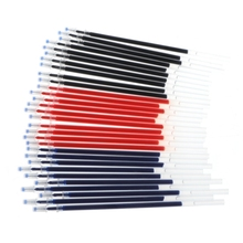 0.38mm 10pcs/lot  Pen Refill Office Signature Rods For Handles 0.5mm Red Blue Black Ink Refill Office And School Supplies new