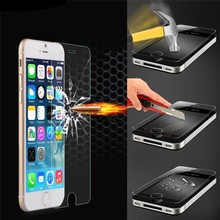 Tempered Glass Screen Protector Phone Case for Iphon Ipone Iphone 4 4s 5 5s 5c SE 5g 6g 6 6s 7 Plus Case Cover Coque De Fundas(China)