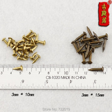 Fastening Pieces Of Jewelry  4cm Straight Copper Nail  Decorative Antique Upholstery Nails  And Decoration  Furniture Sofa Nails