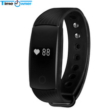 TimeOwner V05C Bluetooth 4.0 Smart Bracelet Heart Rate Monitor Smart Wristband Fitness Tracker Smart Band for Android iOS iPhone(China)