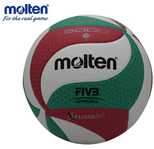 original molten volleyball V5M5000 NEW Brand High Quality Genuine Molten PU Material Official Size 5 volleyball free shipping(China)
