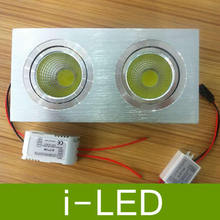 12pcs/lot dimmabe cob led down light with power driver 3W 5W 7W 9W 12W 14W 15W led downlight, discount chandelier by FedEx