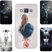 Game Of Throne House Stark Targaryen Hard PC Painting Case For Samsung Galaxy Grand 3 Max E5 E7 S3 Duos Neo Phone Printed Cover