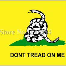 Dont Tread On Me Flag 3x5ft Poly