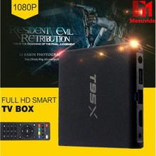 Sunvell T95X Amlogic S905X Smart Android6.0 TV Box Quad Core 4K*2K 2.4G WiFi Media Player 1G 8G  Set Top Box PK Mini M8S