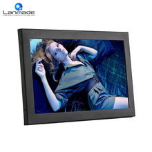Lanmade 10.1 inch metal case full hd shelf edge ROHS LCD Monitor with HDMI + VGA + DVI low cost tv advertising tablet(China)