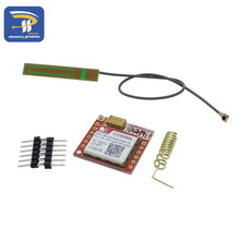 Smallest SIM800L GPRS GSM Module MicroSIM Card Core BOard Quad-band TTL Serial Port with the antenna(China)