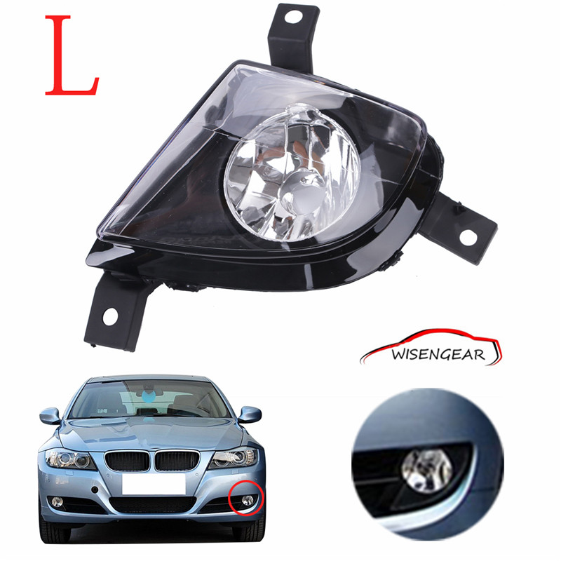Front Bumper Left Side Clear Glass Lens Fog Lights Driving Lamps For BMW 3-Series E90 E91 2009 2010 2011 63177199893 C/5<br><br>Aliexpress