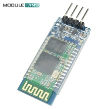Bluetooth Module HC-06 For Arduino RS232 HC06 Slave Module 4 Pin RF Transceiver Bluetooth Module With Backplane