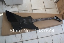 Free Shipping New Arrival Custom Shop EMG battery-powered pickup ESP Explore ESP signature series Black Electric Guitar(China)