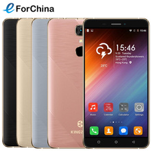 KINGZONE S20 Smartphone Android 6.0 OS 5.5 inch Screen MTK6580A Quad Core 1.3GHz ROM 16GB RAM 1GB Dual SIM Metal Frame 3000mAh - eForChina Store store