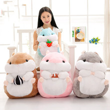 Cute Hamster Stuffed Animal Soft Toys For Sleeping For Baby Speelgoed Kawaii Toy Soft Doll Stuffed Hamster Plush Toy 70C0126