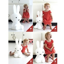 2017 Baby Bed Room Big Rabbit 50cm Night light  Anti-fall Children Lamp Christmas Gift Bedside Decoration Kids Lovely Lights