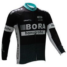 Winter cycling clothing 2017 Bora fleece thermal ropa ciclismo invierno bicycle mtb winter cycling jersey long sleeve sport