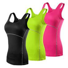 Sexy Yoga Tops Women Sports Shirt for Women Sleeveless Quick Dry Sports T-shirts for Women Tank Top Yoga clothing sportswear