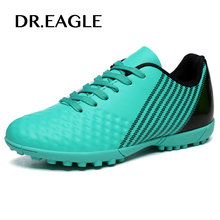 DR.EAGLE Man futzalki indoor soccer cleats shoes for boys kids crampon original football boots shoes for man the soccer shoe(China)