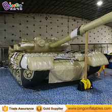 Advertising Inflatable Tank Inflatable Army Tank Inflatable Tank Decoy for Anniversaire Decoration with Free Fan