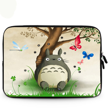 "Hot Cut Totoro Soft Sleeve Case Bag For 9.7"" 10.1"" 11.6"" 12"" 13.3"" 14"" 15"" 15.6"" Laptop Notebook PC(China)"