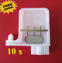 10pcs Injek printer spare parts - large dx5 damper square head connector For Roland / Mutoh / Mimaki and Most China Printers
