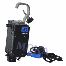 6PCS/lot DMX Power Drop Machine Stage Drop System Equipment Special Curtain Stage Fx Power Drop DJ
