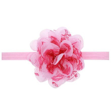 Buy direct from China Chiffon Flower Hair Band Headband Hairband Hair Accessories Multicolor Children's fashion girl wreath
