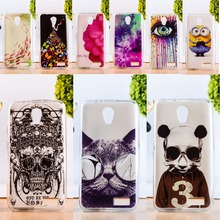 DIY Painted Soft TPU & Hard Plastic Cover For Lenovo A319 A 319 4.5inch Cell Phone Case Anti-Knock Function Phone Shell