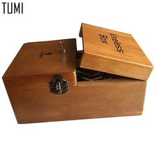 TUMI Broad game/Tricky toys/Useless Box/Creative adult funny useless toys/Creative gifts/Fun party toys/novel Wooden toys D001