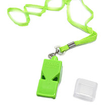 EDC fox40 Whistle Plastic FOX 40 Soccer Football Basketball Hockey Baseball Sports Referee Whistle Survival Outdoor(China)