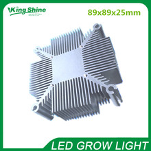 20w-100w Pure aluminium cob led heat sink multichip led cooling radiator DIY Led Light fixtures