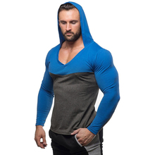Mens Bodybuilding Hoodies Golds Gyms Clothing Workout Slim Fit Sweatshirts Male Hooded Tracksuit Boys Sportswear Cotton(China)