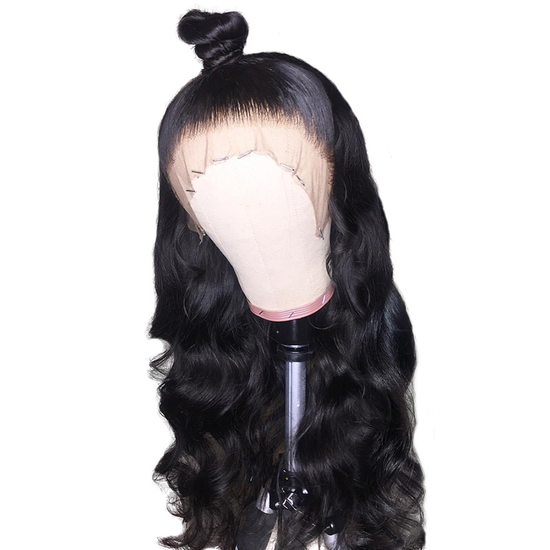 BEEOS Preplucked 13x6 Deep Parting Brazilian Remy Body Wave Lace Front Human Hair Wigs For Black Women With Baby Hair (China)