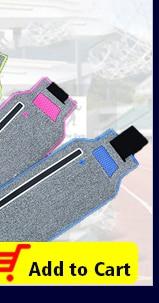 Floveme Waist Belts Armband Bag For Samsung S9 S8 Edges S9+