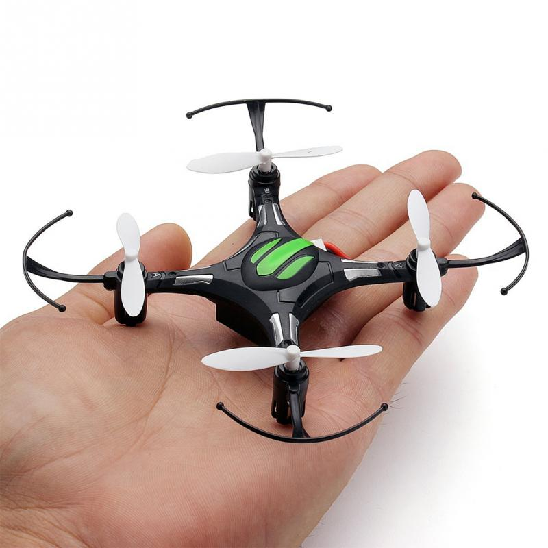 Mini Aircraft Vehicle Toys Automatic Return Headless Mode Quadrocopter H8 2.4G 4CH 6 Axis Nano Quadcopter Drone RTF Mode 2