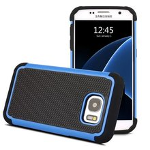 For Samsung Galaxy S7 Phone Case Hybrid 3 in 1 Impact Armor Rugged TPU+PC Football Hard Case Cover